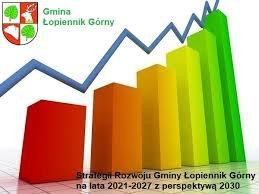 Graficzne logo Strategii Rozwoju Gminy Łopiennik Górny