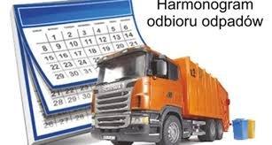 Harmonogram odbioru odpadów.