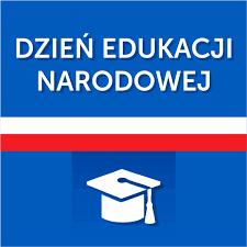 zdjęcie z napisem Dzień Edukacji Narodowej