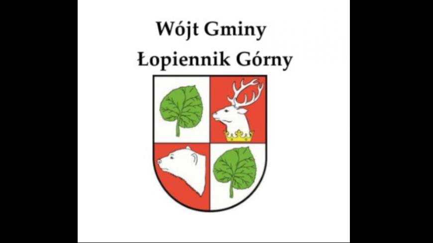 logo gminy Łopiennik Górny