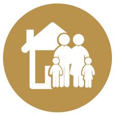 logo graficzne z rodziną
