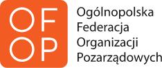 logo graficzne z napisem Ogólnopolska Federacja  Organizacji Pozarządowych