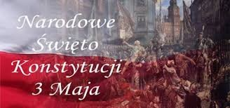 zdjęcie z napisem Narodowe Święto Konstytucji 3 Maja
